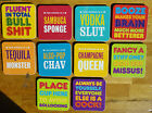 HILARIOUS ADULT HUMOUR COASTERS GREAT FOR STUDENTS BRAINBOX CANDY