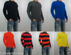 NWT Abercrombie & Fitch A&F Men Muscle Fit Slant Rock Long Sleeve Shirt Sweater