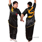 kungfuworld Silk Embroidery Changquan Uniform Martial arts Wushu Suit Costumes