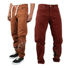 NEW MENS ENZO EZ203 RED STRAIGHT LEG JEANS PANTS ALL SIZES 28TO 42 BARGAIN PRICE