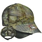 NEW RealTree APG Camouflage Adjustable Hunting Hat FULL MESH Turkey Call Pocket