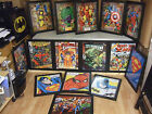 Choice of Framed Comic Book Superhero Mini Poster Print. Batman, Superman, Hulk