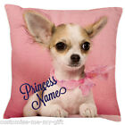 Princess cute dog Cushion -  Add ur own text choice | Gift for Girl | Christmas