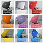 "Rubberized Hard Matte Case Laptop Shell +Key Cover for Macbook Pro/Air 11""13""15"""