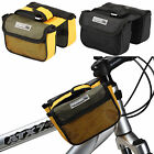 PJ Cycling Bike Bicycle Double Pannier Frame Front Tube Mobile Phone Bag Pouch