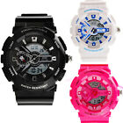 Skmei Boy's/Girl's Dual Display Fashion Waterproof LED Sports Wrist Watch Gift