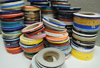 """1/4"""" x 150 ft Roll Vinyl Pinstriping Vinyl Striping Tape 25 Colors Available"""