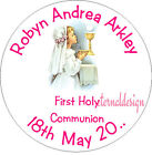 PERSONALISED HOLY COMMUNION ENVELOPE SEALS STICKERS GIFTS FAVOURS INVITES HCS 6