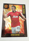MANCHESTER UNITED PANINI ADRENALYN CARDS LIMITED EDITION PLATINUM PREMIER 2014