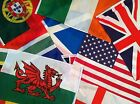 """National Country 18"""" x 12""""  Flag Boat Motorbike Flags Sleeve for Flying"""
