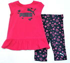 Puma Girls New Shirt Legging Outfit Set size 2T Nwt
