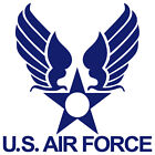 US AIR FORCE USAF EMBLEM ARMY WINGS MILITARY VINYL DECAL STICKER (USAF-3)