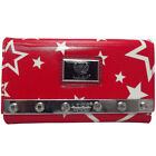Authentic LYDC Ladies Polka Dot/Star Studded Tri-fold Purse/Clutch/Wallet