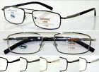 L443 High Quality Super Fashion Double Bridge Reading Glasses Spring Hinges +150
