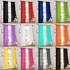 Kyпить 2 Piece Sheer Voile Rod Pocket Window Panel Curtain Drapes Many Sizes & Colors на еВаy.соm