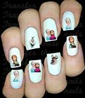 30 DISNEY FROZEN NAIL ART DECALS STICKERS /TRANSFERS PARTY FAVORS