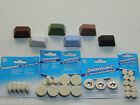 JEWELLERS ROUGE POLISHING COMPOUND METAL POLISH BUFFING WHEELS FELT SILVER GOLD