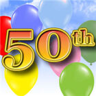 50th Birthday Party Black/Silver Pink/Girl Unisex/Boy Banners Decorations ETC
