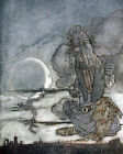 Arthur Rackham AESOPS FABLES THE MOON & HER MOTHER PRINT A4 or A5 Size Unframed