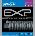 D'ADDARIO EXP120 COATED 9/42 ELECTRIC GUITAR STRINGS CLEAROUT SALE EXL120 GAUGE