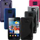 NEW TPU GEL CASES FOR SAMSUNG GALAXY S2 + FREE SCREEN PROTECTOR
