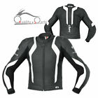 Held Street II Leather Jacket CE Approved Armour Proctector Double stitched
