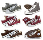 Converse - Chucks All Star - Braun / Grau / Bordeaux Sneaker Schuhe Gr: 35-48