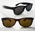 BIFOCAL Wayfarer Hornrim Reading Glasses Black Tortoise Wide Sun Reader Hipster