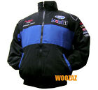 FORD WRC RALLY MUSTANG NASCAR GT Racing Embroidered Cotton Jacket Blue Black