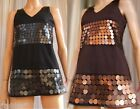 MINI ABITO SERA DISCOTECA Vintage 60 COCKTAIL PARTY DRESS Nero Marrone TWIGGY
