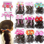 NEW Girls Baby Kids Children Hair Alligator Clips  Ponies Bobbles Bows Snaps