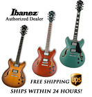 **IBANEZ AS73 HOLLOW BODY ELECTRIC GUITAR, WITH FULL SET-UP