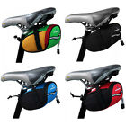 Sales New Bike Cycling Bicycle Saddle Seat Bag Green Red Blue Black EVA Dacron