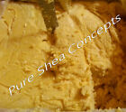 Organic Unrefined Creamy Yellow  African Shea Butter   (Choose your size)