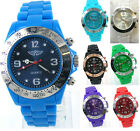 Prince London coloured plastic toy style buttons watch