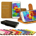 Flip PU Leather Case For Samsung Galaxy S5 Stylish Wallet i9600 S V Cover