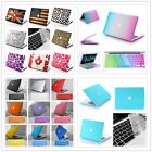 """Colorful Rubberized Hard Case Keyboard Cover for Macbook Pro 13""""/15"""" inch Retina"""