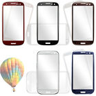 Front Outer Screen Glass Lens Cover Replacement for Samsung S3/I9300 5-colour