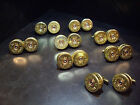 Wedding day Favours Shotgun Shell Cartridge Cap Cufflinks Sporting Clay themed