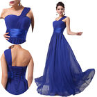 UK CHEAP Luxury Long Evening Ball Gowns Bridesmaid Wedding Formal Prom Dress New