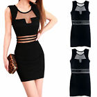 New Women's Summer Sexy Casual Sleeveless Mini Evening Cocktail Party Dress