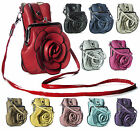 Big Handbag Shop Womens Rose Flower Womens Evening Party Clutch Handbag Purse