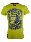 DRUNKNMUNKY Mens Green Vibz T-Shirt Uk Size S - XXL RRP £28 -£30 Free Uk P&P
