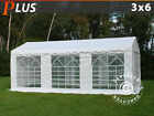Marquee 3x6 m 6x3 m PE Garden Party Tent Gazebo Wedding Marquees Canopy