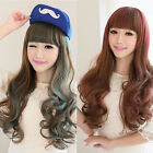 Fashion Anime Long Wavy Hair Girl Lolita Cosplay Costume Party Mixed Colors Wigs