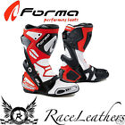 FORMA ICE WHITE RED PRO MOTORCYCLE MOTORBIKE RACING RACE BIKE BOOTS