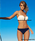 Push-up Bikini Self Size 34-42 Cup A-e Two Coloured With Without Straps 780 R Wr