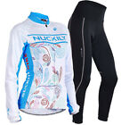 2015 Women Long Sleeve Cycling Outdoor Jersey and Pant Wear Clothing size S-XL
