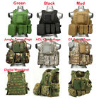 USMC Airsoft Tactical Military Molle Combat Assault Plate Carrier Vest Tactical