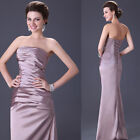 New Fashion Women Vintage Long Evening Formal Prom Party Pageant Dress Ball Gown